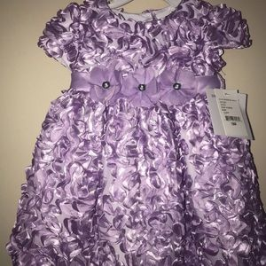 18 month lilac Easter Dress